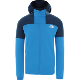 The North Face Impendor Felpa midlayer con zip intera Uomo, clear lake blue/blue wing teal